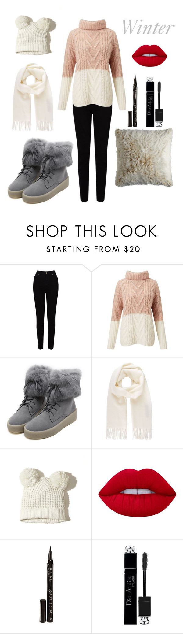 """""""Untitled #15"""" by lea-bdlt on Polyvore featuring EAST, Miss Selfridge, WithChic, Vivienne Westwood, Hollister Co., Lime Crime, Smith & Cult, Christian Dior and Pier 1 Imports"""
