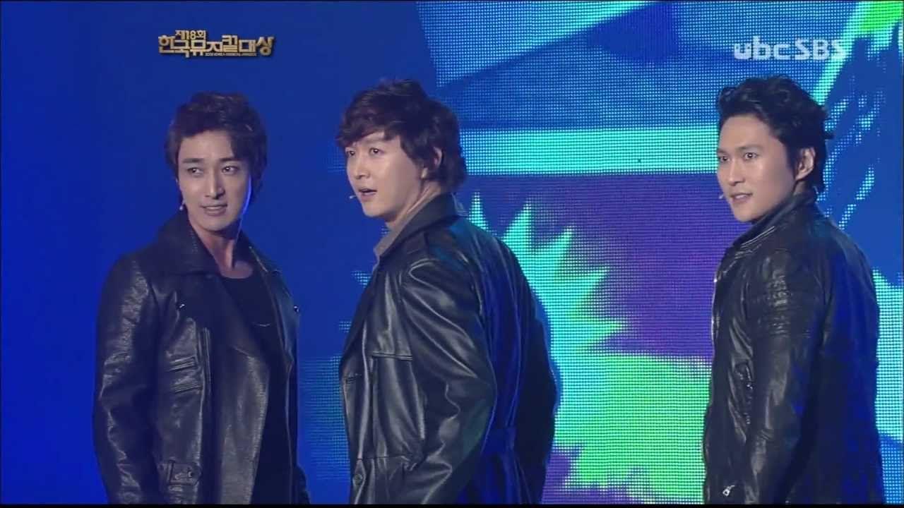 121030 이건명, 박은태, 김승대 - 세상의 왕들.2012 한국 뮤지컬대상 시상식