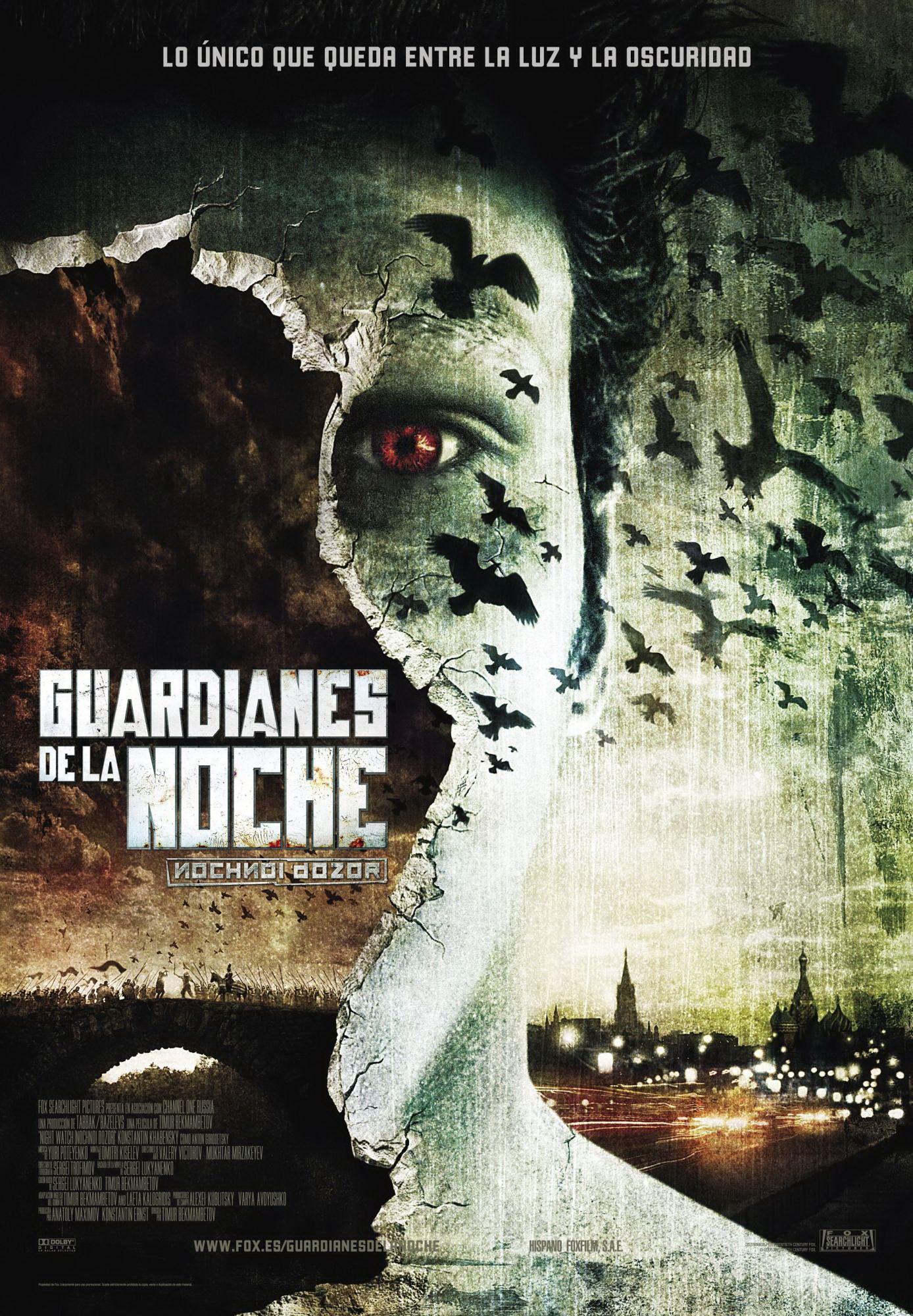 2004 Guardianes De La Noche Nochnoi Dozor Tt0403358 Peliculas Fantasia Peliculas De Miedo Carteles De Cine