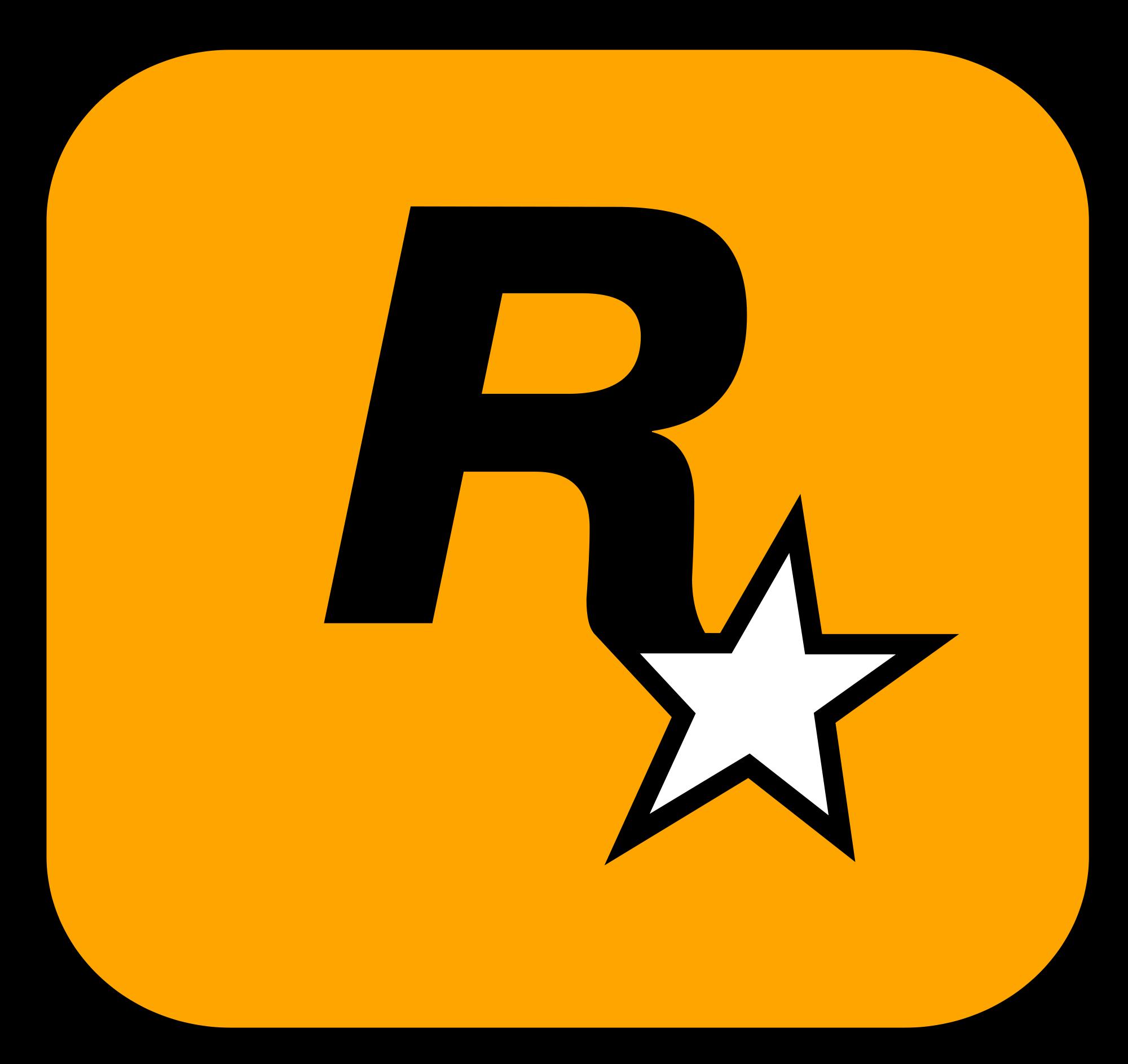 Rockstar Games Wikipedia The Free Encyclopedia Rockstar Games Logo Rockstar Games Game Logo