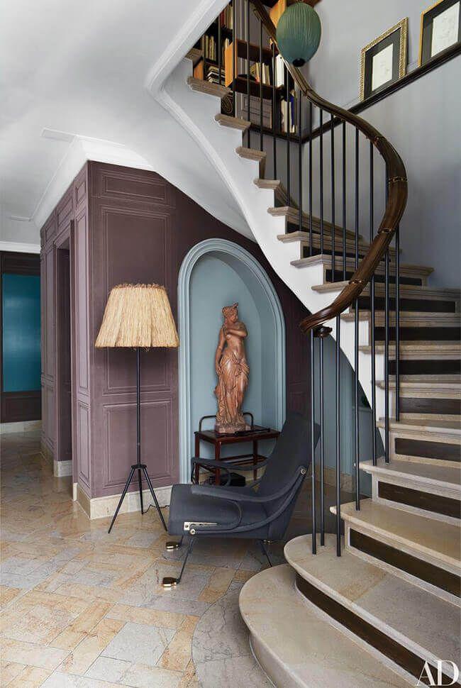 Kim's favourite stairs 2018   Architectural digest, Paris ...