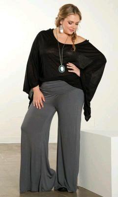 cdac41159f2 Outfits para ir al trabajo formal y a la moda tallas grandes | Ropa ...