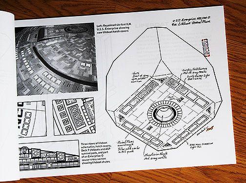 Star Trek TNG Enterprise-D 4-Meter Lifeboat Design Document Star - design document
