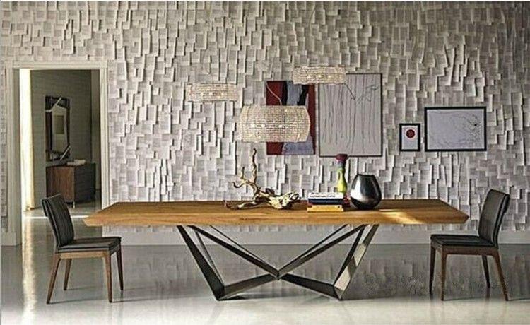美式實木複古餐桌創意工作台鐵藝辦公桌做舊實木酒吧桌長方桌書桌-淘寶網