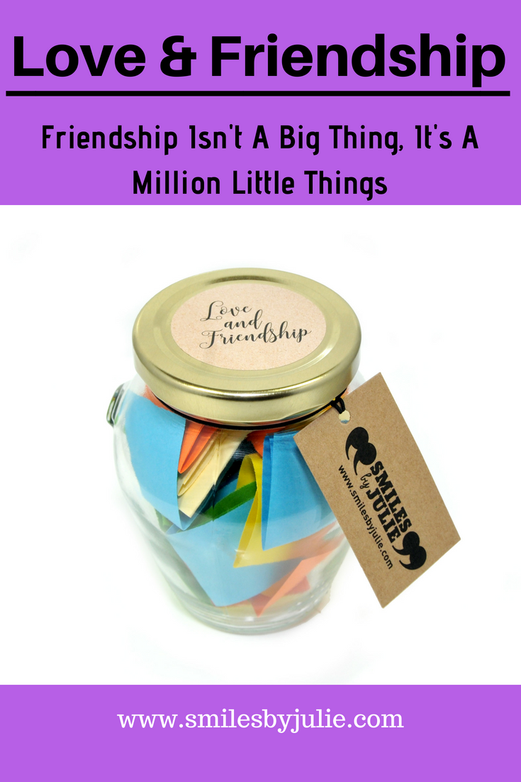 5e03d3d8bd74 Love   Friendship in a Jar. A Month of Thoughtful   Happy Quotations in a