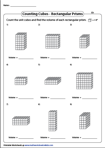 40+ Volume of solids worksheet Free Download