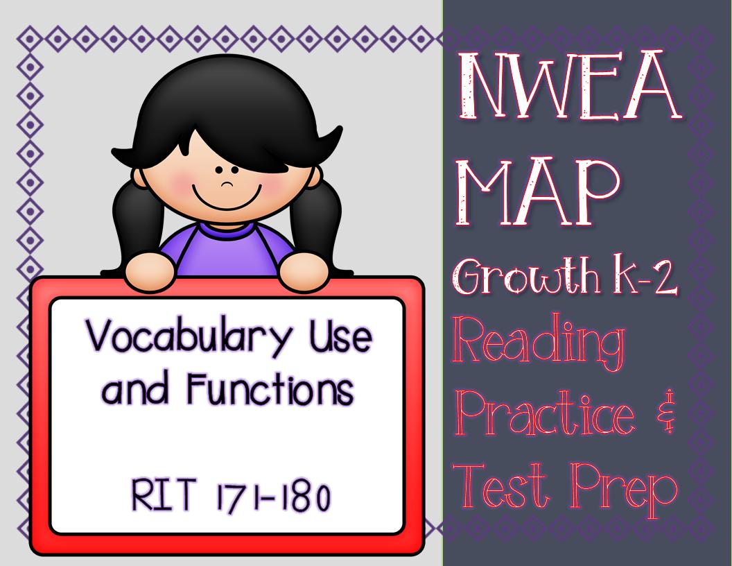 Nwea Map Reading Practice Amp Prep Vocabulary Use