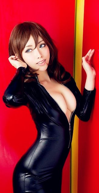 Latex pinterest latex catsuit in Best images babes asian on