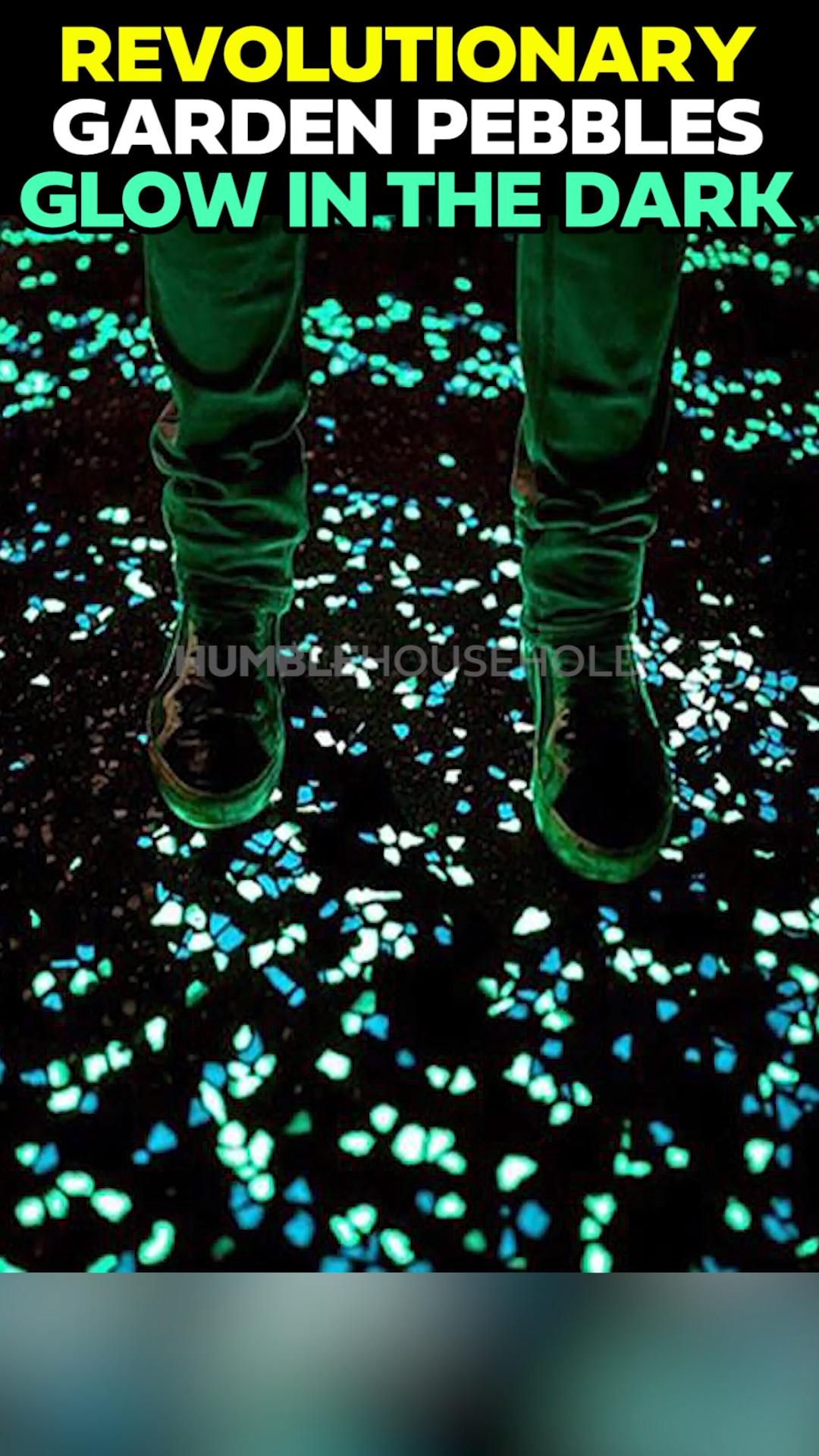 Photo of Leuchtende Kieselsteine leuchten im Dunkeln und benötigen keinen Strom! -…