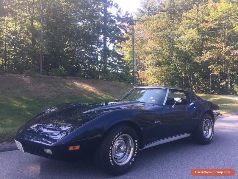 1973 Chevrolet Corvette Stingray #chevrolet #corvette #forsale ...