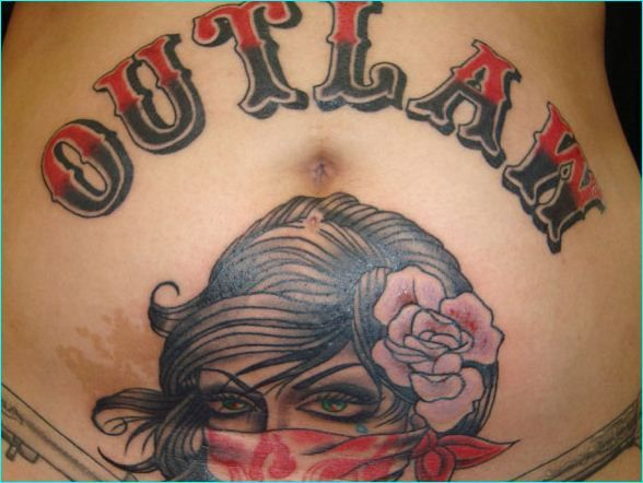 18 perfect outlaw tattoo designs perfect outlaw tattoo designs rh pinterest com Outlaw Biker Tattoos Meanings western outlaw tattoo designs