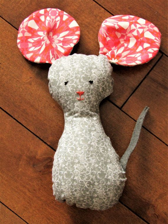 Pretty Plushie Pretty Mousie Toy Plush Animal by OBeginsOwl