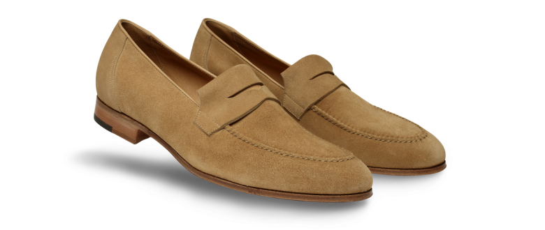 4a0ae9e2198 John Lobb Turvey in Cashew - Casual Styles  mensfootwear