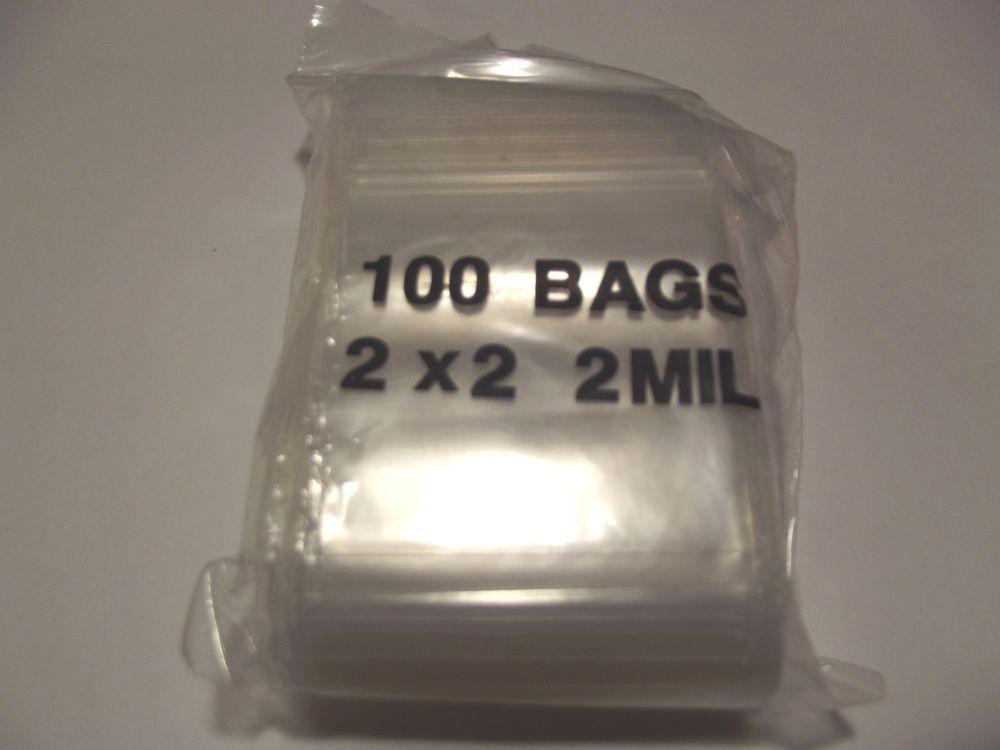 Reclosable Ziploc Bags. 2x2 100 Clear Bags. #Ziploc   www.arizonagemsandminerals.com