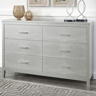 Signature Design by Ashley Olivet Dresser in Silver ...