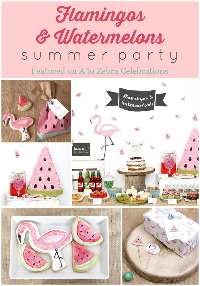 bd33f24f0901d6 Flamingos and Watermelons Summer Party