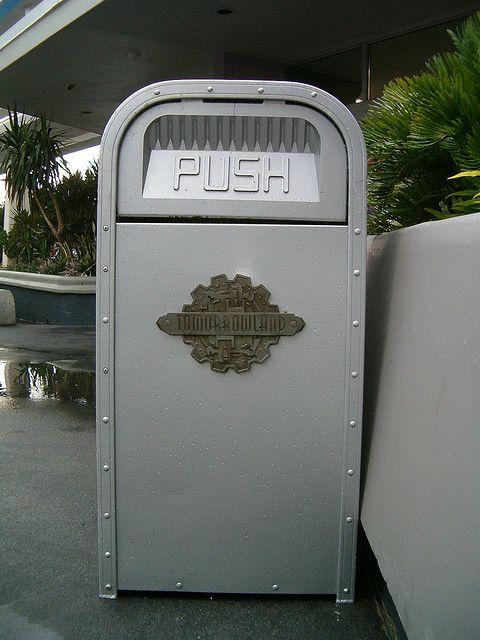 Tomorrowland Trash Can by figmentfan84, via Flickr