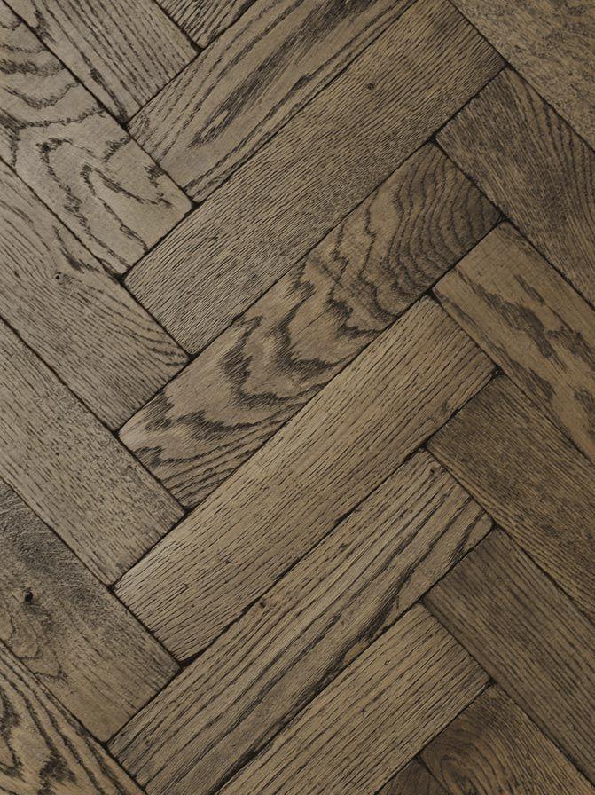 Vintage Oak Dark Herringbone Wood Floor From Tilestyle Floors