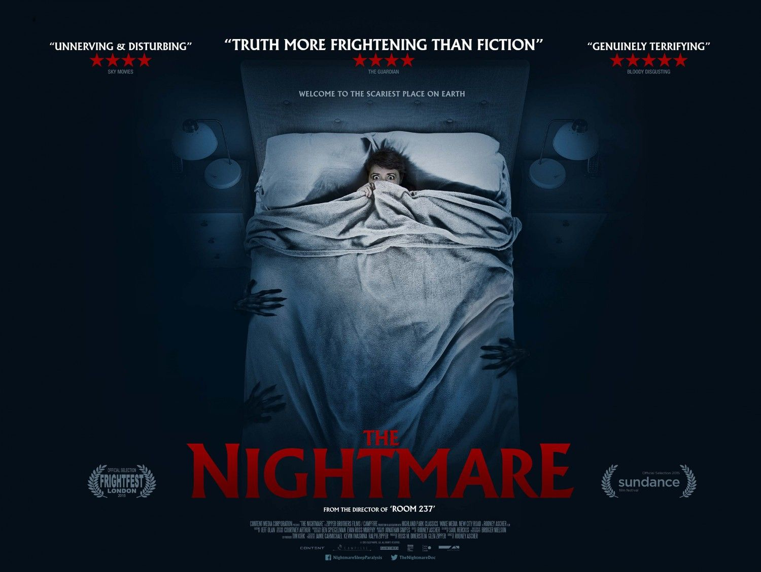 The Nightmare Extra Large Movie Poster Image Internet Movie Poster Awards Gallery Pride And Prejudice And Zombies New Movie Posters Documentaries The sleep demon is actually a hallucination linked to sleep paralysis, which occurs when a person is jolted awake in the middle of the rapid eye movement (rem) phase of sleep associated with dreaming. the nightmare extra large movie poster