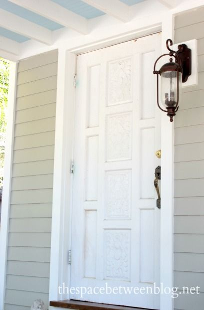 Staining The Threshold A Great Way To Add Richness To Your Front