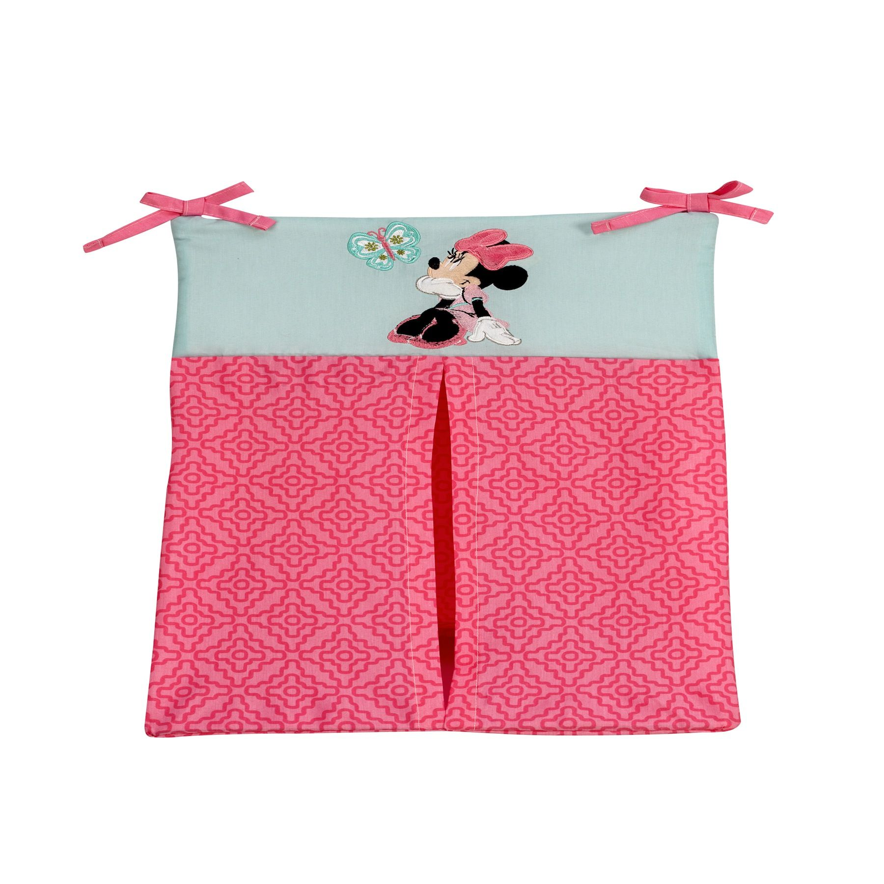 Minnie Mouse Butterfly Charm Diaper Stacker Minnie Mouse Pink