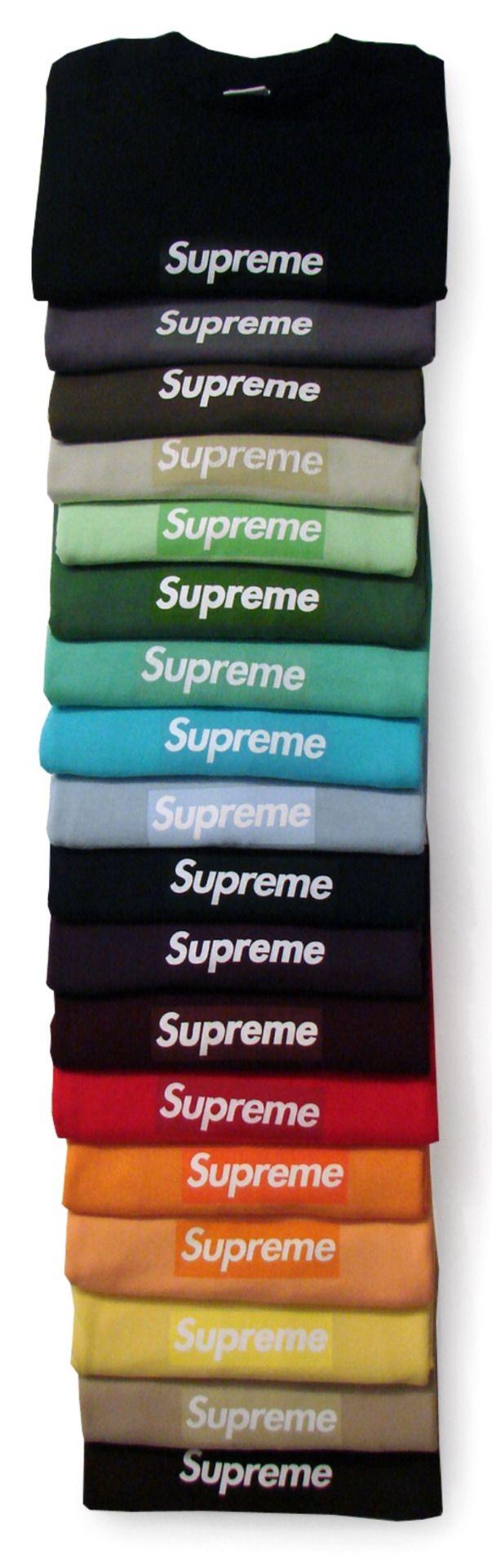 Supreme - Box Logo Rainbow  7341d2338bb8