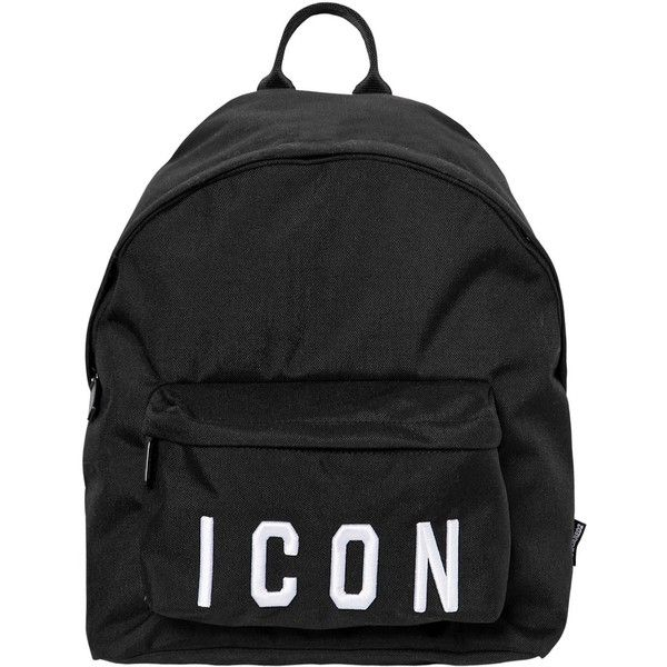 Dsquared2 ICON PATCHES NYLON CANVAS BACKPACK 05poSW
