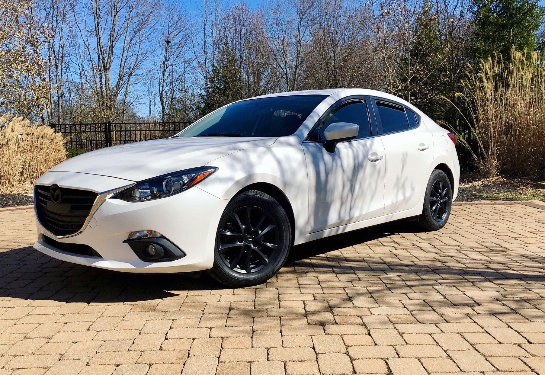 2015 Mazda 3 White With Black Cars Mazda 3 White
