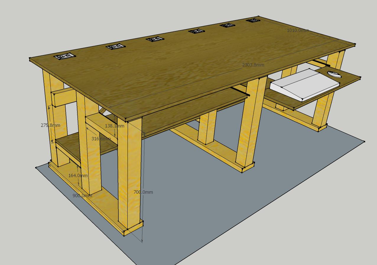 Computer Desk Ergonomic Plans Computer Desk In 2018 Pinterest