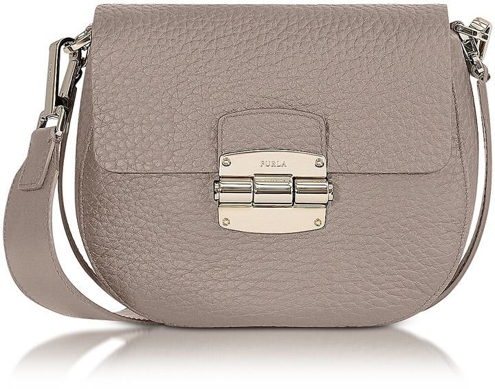c9cb751e34fb Furla Club Mini Pebble Leather Crossbody Bag