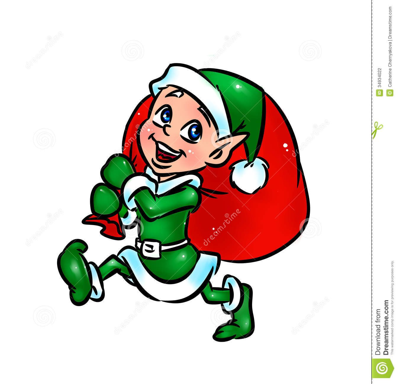 cartoon christmas elves clipart free clipart christmas rh pinterest ca