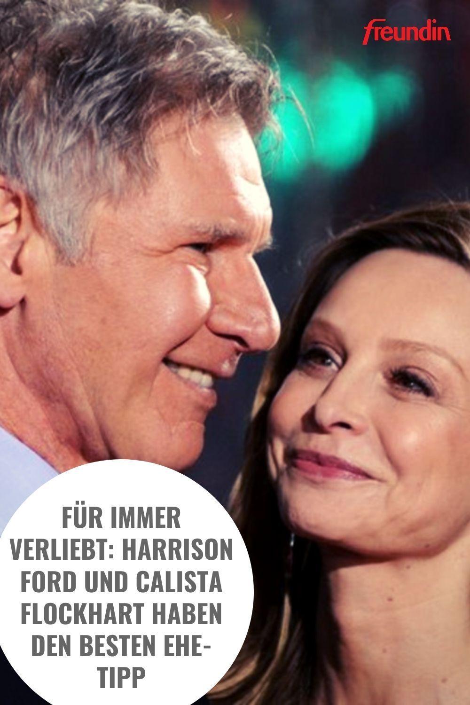 Fur Immer Verliebt Harrison Ford Und Calista Flockhart Haben Den