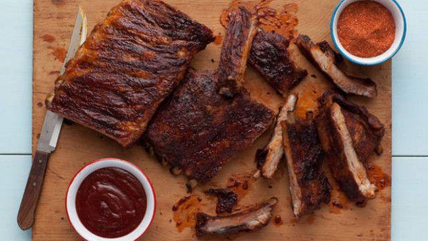 travers de porc ribs barbecue bbq grillades cuisine am ricaine recette am ricaine. Black Bedroom Furniture Sets. Home Design Ideas
