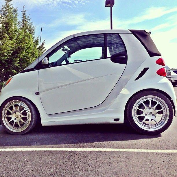 451 Stanced With Images Smart Roadster Smart Car Smart Car