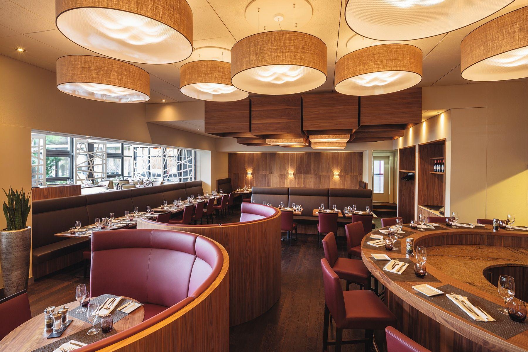 fertigstellung empfangspult eingang restaurant movenpick hotel regensdorf restaurant restaurant room und furniture