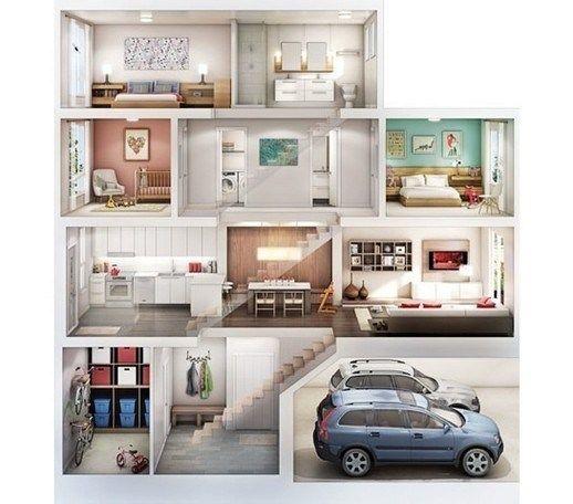 55 Modern House Plan Designs Free Download 46 Ev Plani Ev Mimarisi Ev Zemin Planlari