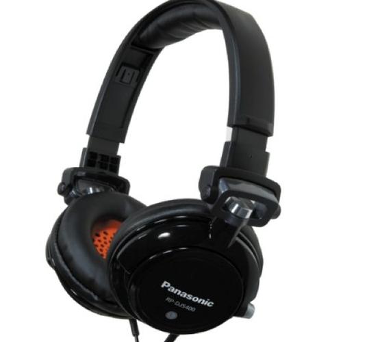 (New) Panasonic DJ Street Model Headphones. Starting at $1 on Tophatter.com!