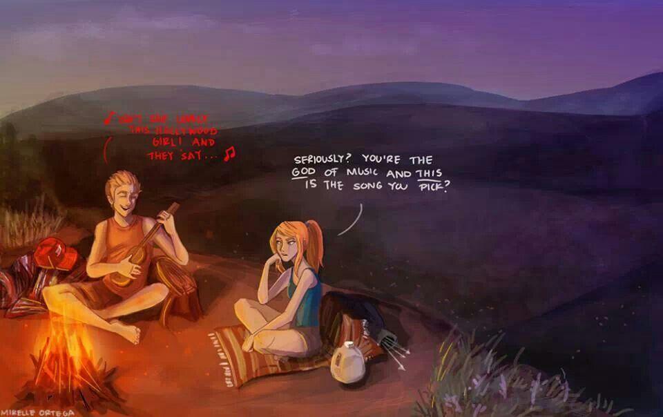 Apollo and Artemis camping !