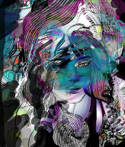by Irmak Akcadogan Art Print
