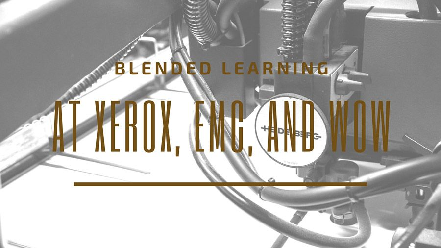 Retention of information in face-to-face training is atrocious. What to do? Blended learning might just be the answer.