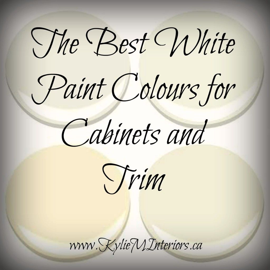 Best Off White Paint Colors: The 3 Best White Paint Colours For Cabinets: Benjamin