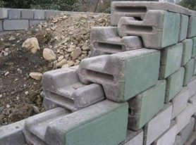 Retaining Wall Cement Blocks Concrete Retaining Walls Interlocking Bricks Precast Concrete