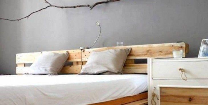 10 muebles fabricados con palets que te harán soñar Pinterest - camas con tarimas