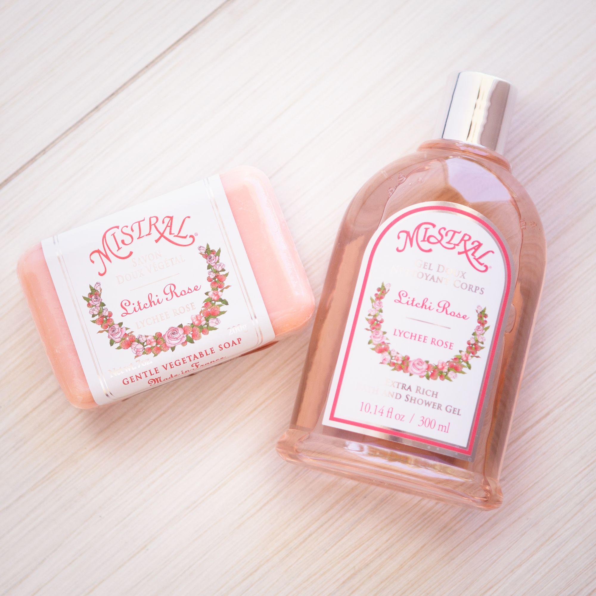 Mistral Lychee Rose Soap