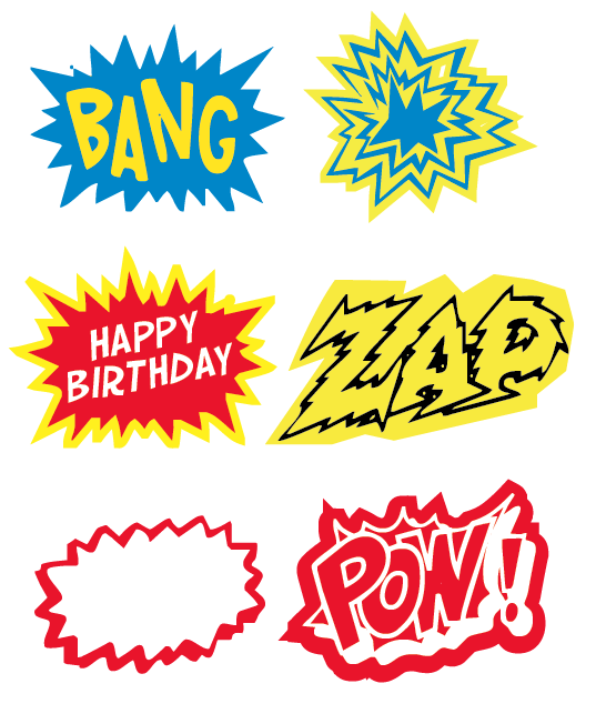 superhero printables for Will's party
