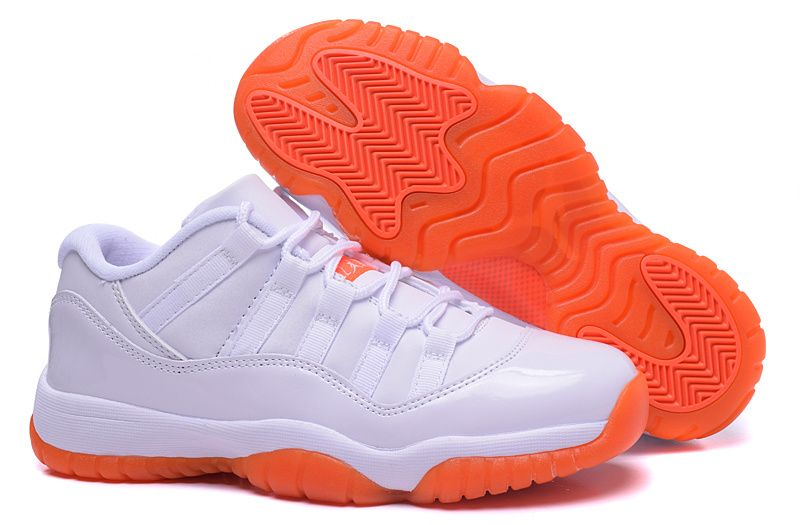 womens air jordan retro 11 yellow orange