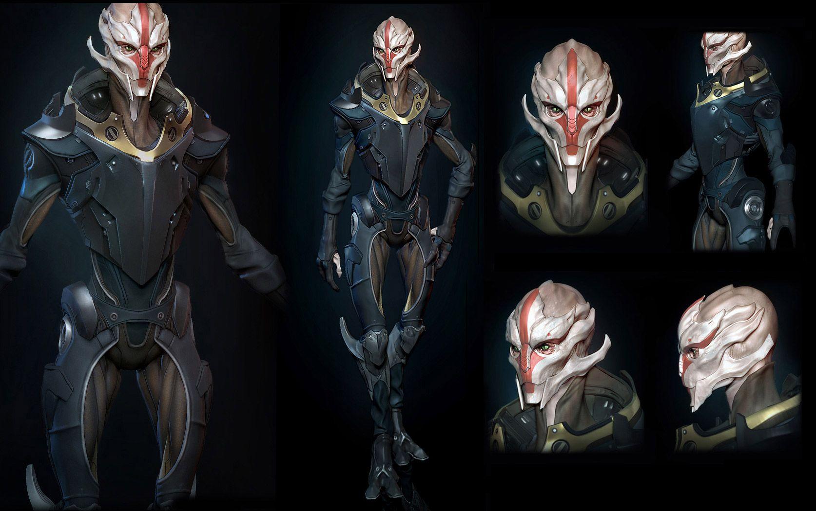 Mass Effect Concept Art Turian 28643 Loadtve