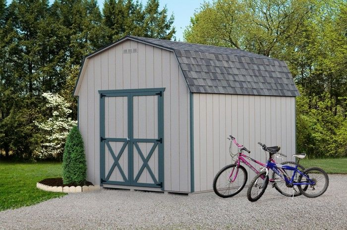 10x12 6 Wall Barn Www Bestinbackyards Com Vinyl Storage Sheds Shed Outdoor Storage Sheds