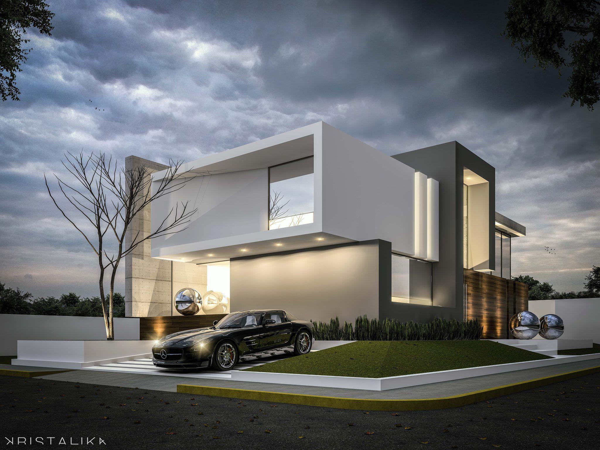 Punto sur house kristalika arquitecture and interior - Casas arquitectura moderna ...