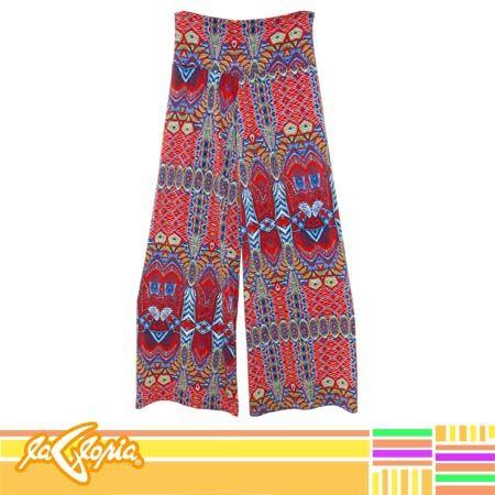 Es tiempo de llamar la atención con #colores y los #pantalones #sueltos #Damas2do.Piso #Juvenil